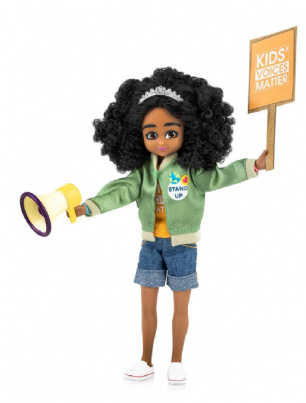 Lottie Doll - Meg Kid Activist